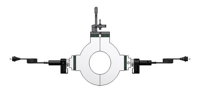 split annular butt fusion welding heating plate