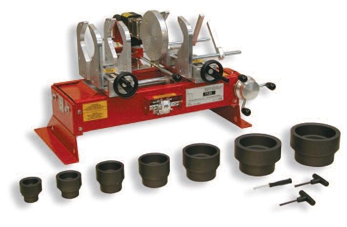 Plastic Pipe Welding - Socket Fusion Machines & Hand Tools
