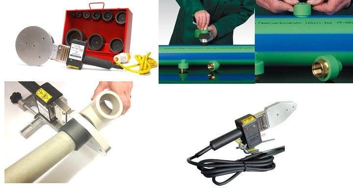 Plastic Pipe Welding - Socket Fusion Tools and Kits