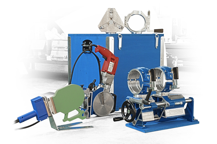 Pl 125 Workshop Pipe Butt Fusion Welding Machine Pipe