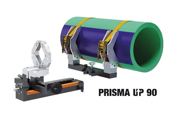 Prisma Up 90 Weld In Saddles Machine PPR Pipework | Socket Fusion