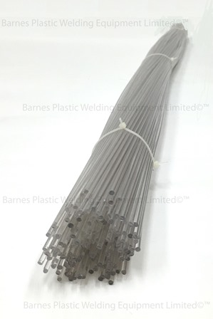 3mm PETG Clear/Transparent Plastic Welding Rod