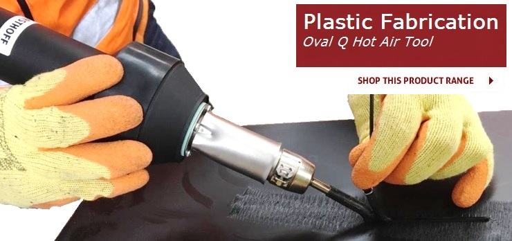Plastic Fabrication - Oval Q Hot Air Tool