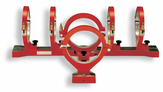 AL160T 40-160mm PE Tee Piece Alignment Clamp