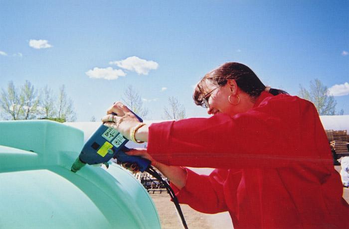 Drader Injectiweld - Roto Molded Tank Repair
