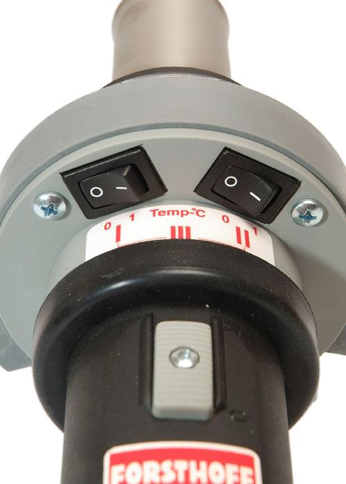 Quick L Hot Air Tool Controls