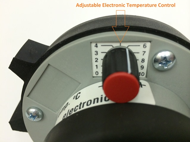 QLE - Plastic Hot Air Welder - Temperature Control