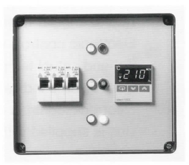 Round Annular Heating Plate - Control