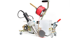 Vinyl Floor - Hot Air Welding Machines