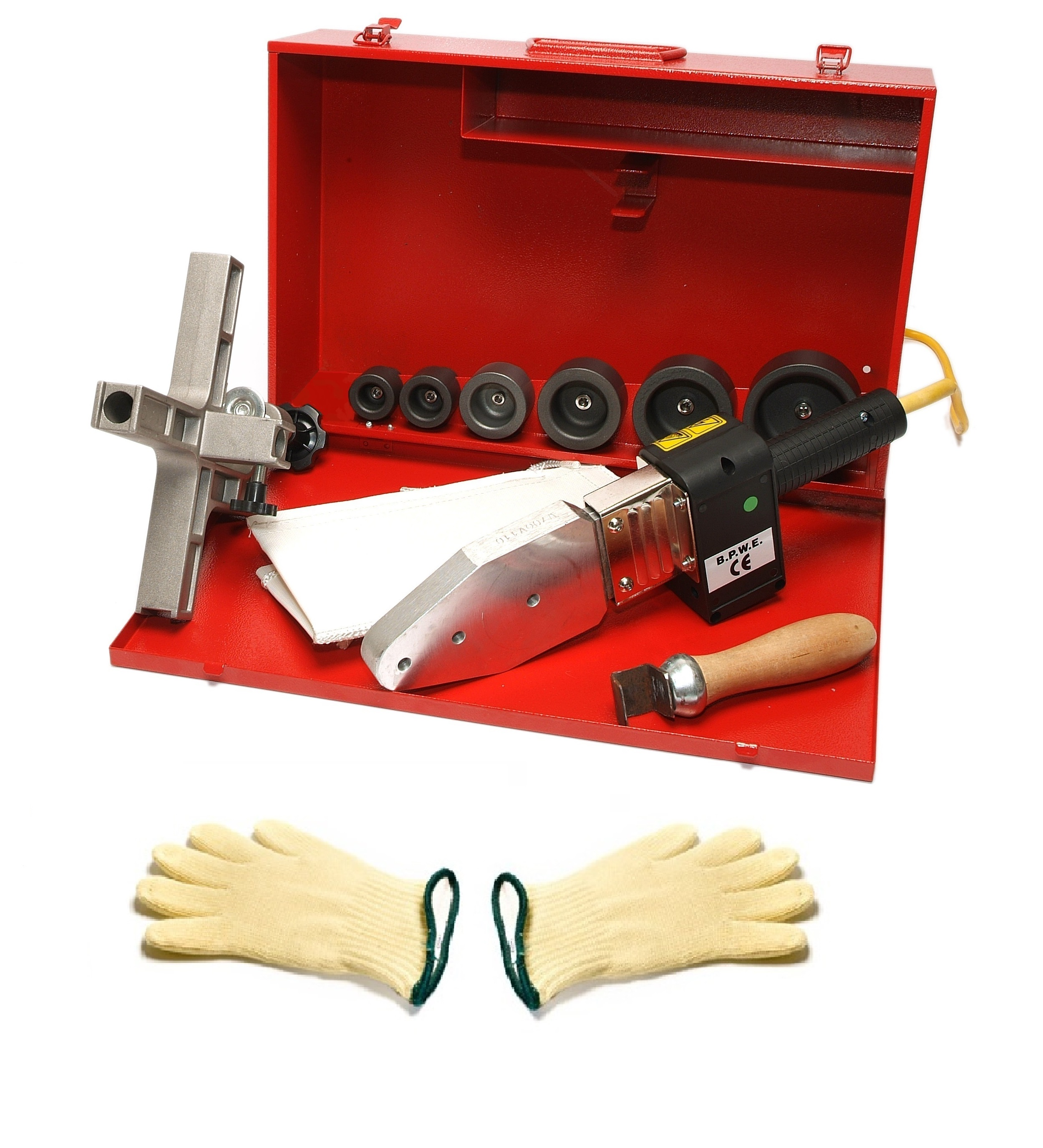 Socket Fusion - Plastic Pipe Welding Kit (63mm)
