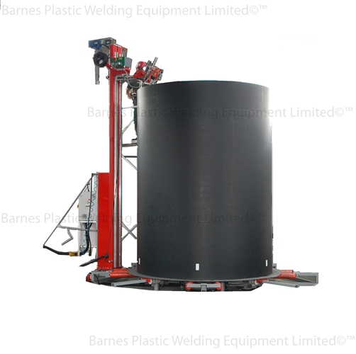 Spiral Wound Hdpe Tank Pipe Extrusion Machine Plastic
