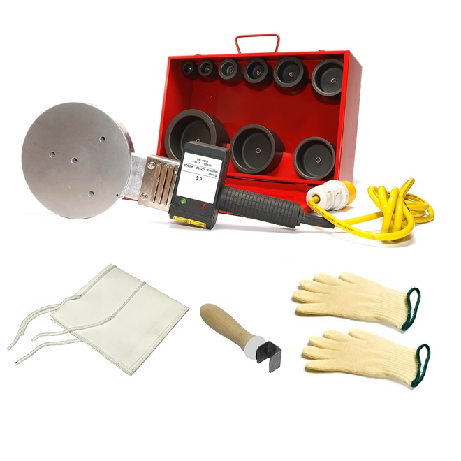Socket Fusion - Plastic Pipe Welding Kit (110mm)