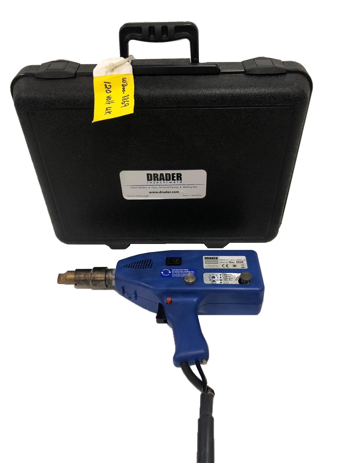 110v Drader Injectiweld - Ex-Demo - Plastic Injection Welder