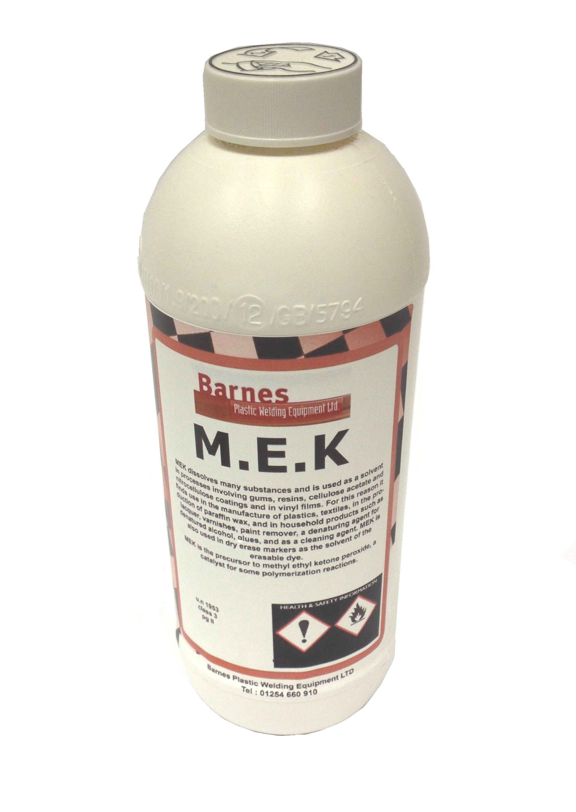 MEK PLASTIC DEGREASING & CLEANING FLUID