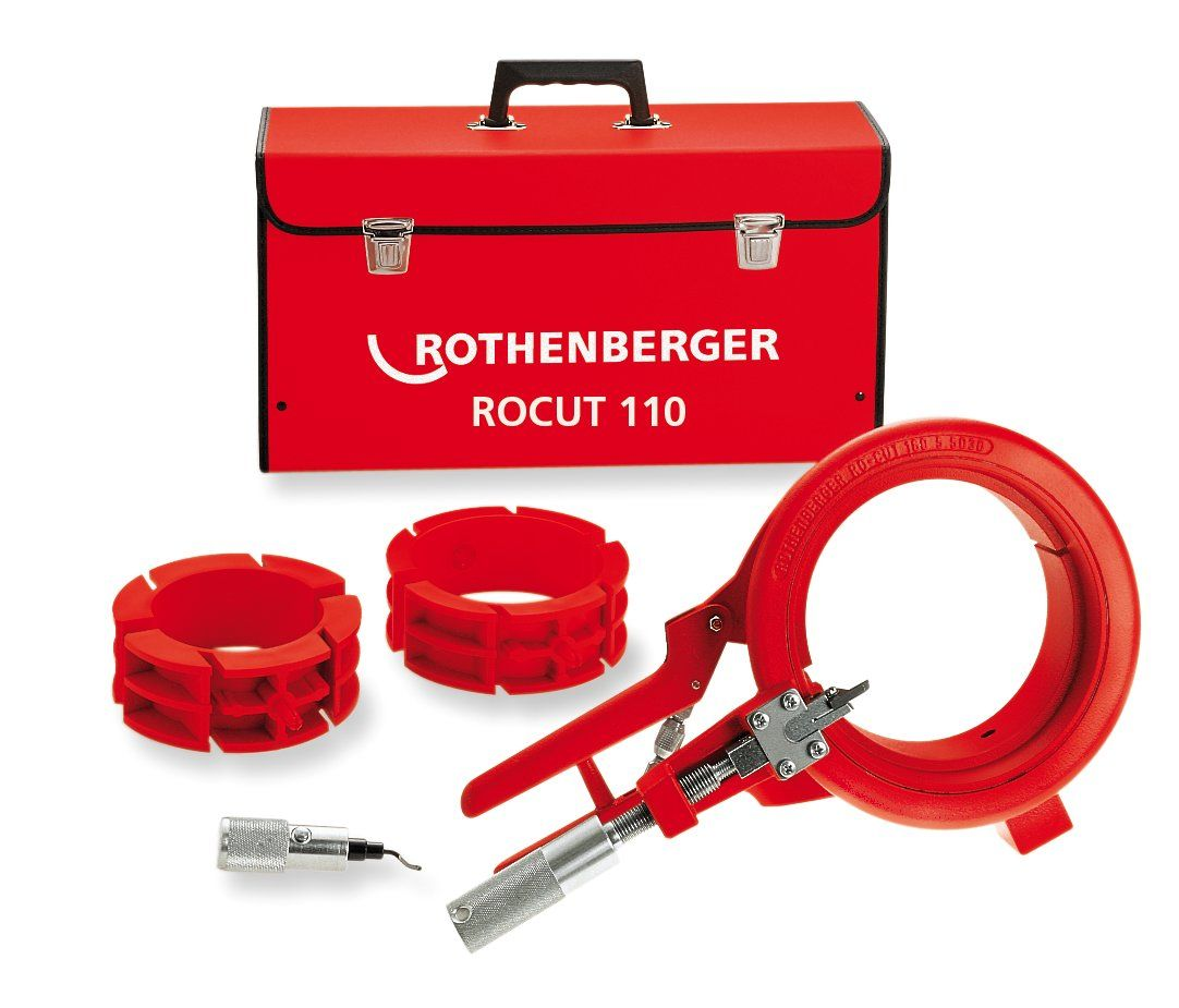 Rothenberger ROCUT 110 Set, 50-75-110mm