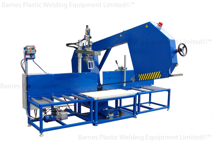 ST 630 Plastic Pipe Tube Cutting Band Saw