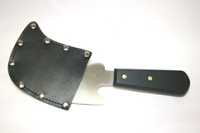 Leather Safety Pouch for Quarter Moon Flooring Trimming Knife
