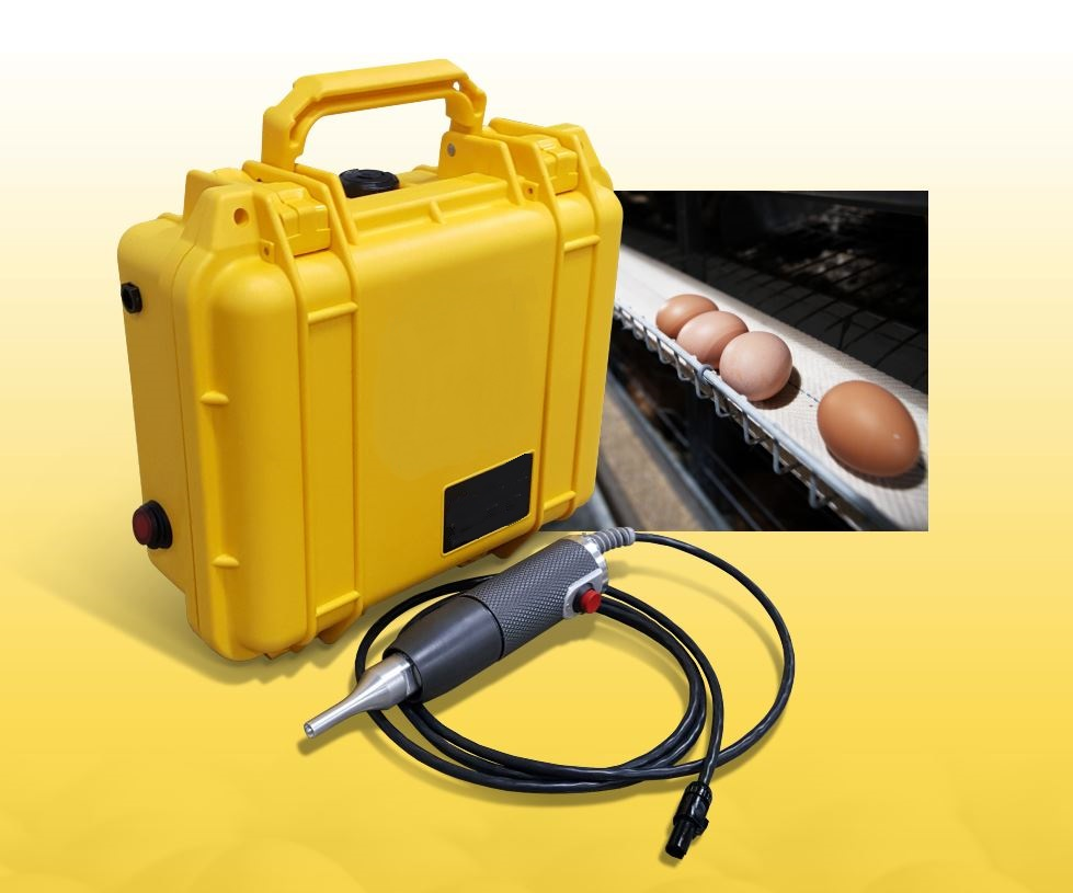 SONIC-BELT - Ultrasonic Plastic Egg Belt Welder - Poultry Farms